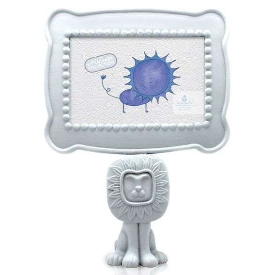 This is one of my favorites on totsy.com: Lion Pedestal Frame, Blue