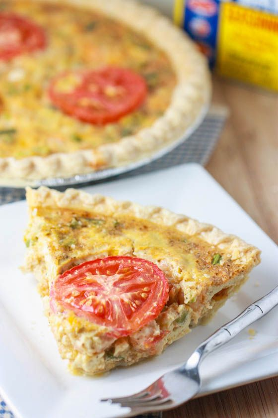 Cajun Shrimp Quiche - Anybody want to come over for brunch?  This sounds yummy!!! ~ KV