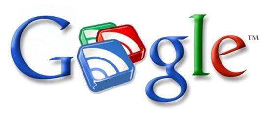 Google Reader logo: