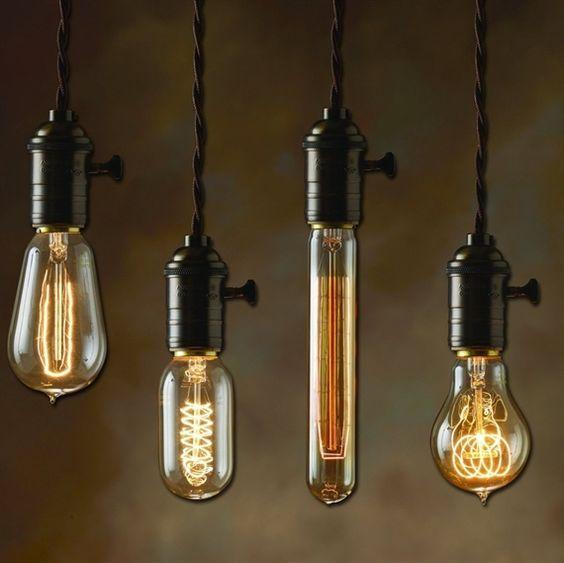 hanging light bulbs edison bulbs nostalgic lighting interior design exterior design lighting cheap contemporary lighting