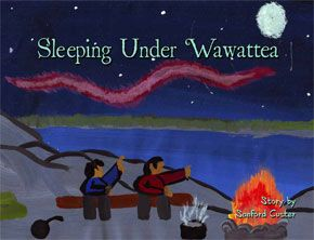 Children's story of the simple times with nature from a first nations Boy ,