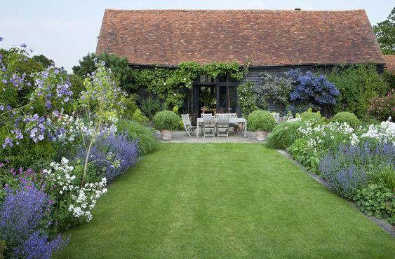 West Garden Tom Stuart Smith Cottage Garden English Country Gardens Landscape Design