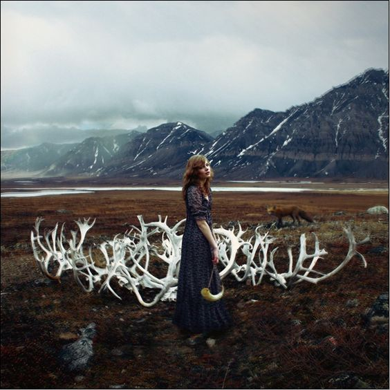 Between Worlds    Model : Ludmila Schwartzwalder  Photographer : Alexandra Sophie
