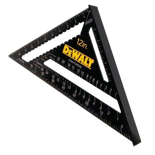 Dewalt Premium Rafter Square 12 Car Accessories Online Market Rafter Square Dewalt Triangle Ruler