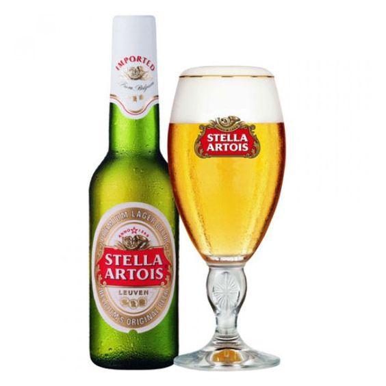 Bia Stella Artois 5% - Chai 330ml - Bia Nhập Khẩu