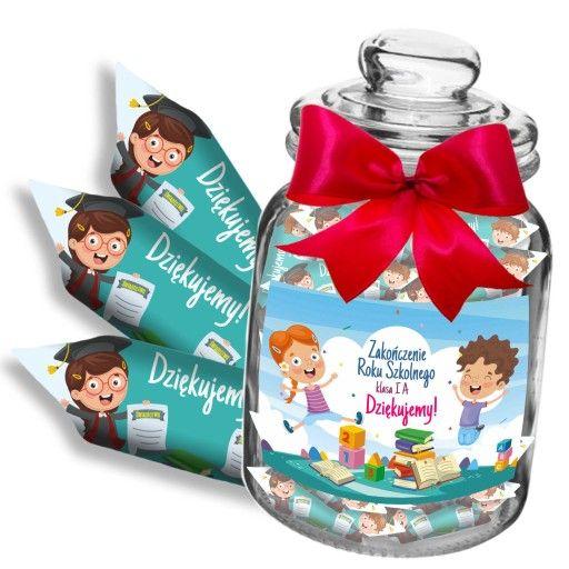 Prezent Dla Nauczyciela Krowki W Sloju Do Szkoly 8115745576 Oficjalne Archiwum Allegro Christmas Ornaments Novelty Christmas Decorative Jars