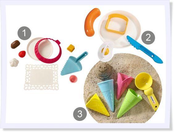 Da wollen wir gleich an den Strand! Die Förmchen-Trends in diesem Jahr sind kunterbunt und ausgefallen. Ob deliziöses Sand-Eis, herzhaftes Sand-Sandwich oder der klassische Sand-Kuchen - hier ist für jeden etwas dabei.