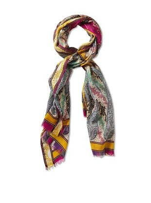 21% OFF Etro Women's Abstract Paisley Printed Scarf, Pink Multi