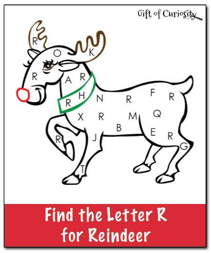 Reindeer Letters And Christmas Letters On Pinterest