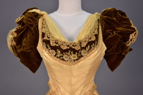 Félix Evening Dress 1890 91from Whitaker Auctions Silk Stockings Tank Top Fashion Fashion