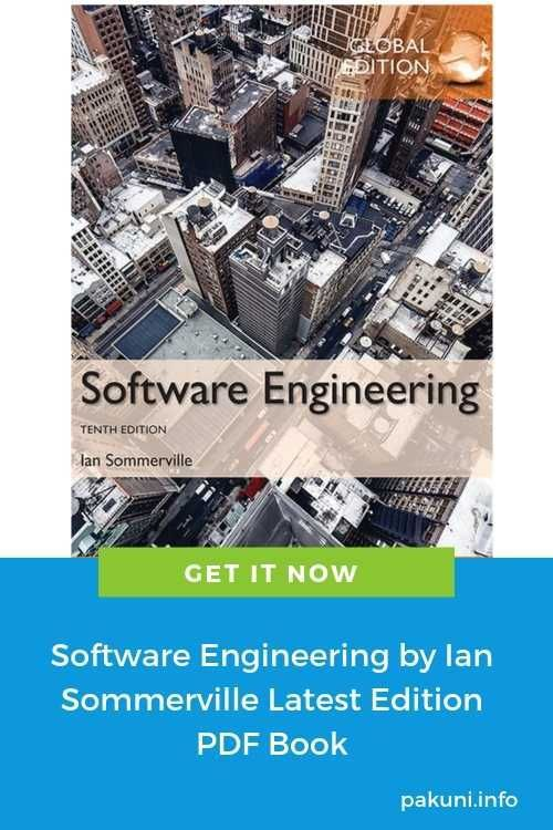 Software Engineering By Ian Sommerville Latest Edition Pdf Book Free Download Softwareengineer Software Engineer Pdf Books Software