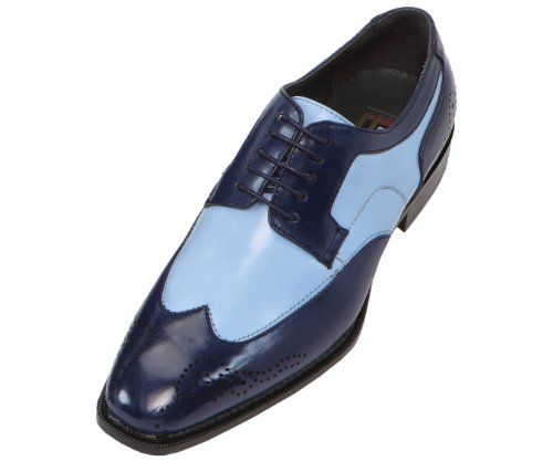 Bolano Mens Two-Tone French Blue and Navy Oxford Dress Shoe: Style Nia French Blue-002 11 D (M) US Bolano,http://www.amazon.com/dp/B00FAVCFB6/ref=cm_sw_r_pi_dp_CLKHsb10CN7AE2HE