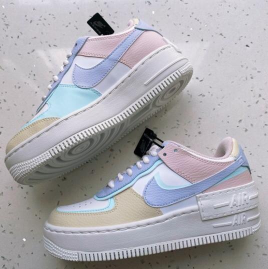 Pin On Nike Air Force 1 Shadow Pastel Nike кеды nike air force 1 lv8 5. pin on nike air force 1 shadow pastel