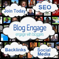 I've been a member of Blog Engage since the early start-up days and it's always been one of my favourite places to find interesting articles to read and also give me a wonderful way of getting my latest blog posts out to the blogging world via the RSS Subscription service that pulls in your latest posts and publishes them not only on Blog Engage but also on a number of other good page ranked sites.