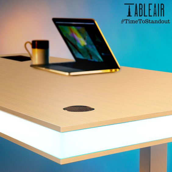 with tableair as your office companion, you don't need to push, Attraktive mobel