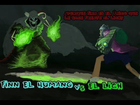 Finn El Humano VS El Lich