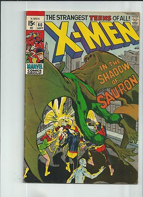 UNCANNY X-MEN #60 Great Silver Age find featuring FIRST Sauron appearance! http://r.ebay.com/4WPgDX