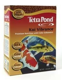 TetraPond Floating Koi Sticks -16.5lbs by Tetra Pond. Save 25 Off!. $79.90. Vitamin enriched for growth, health and metabolism. Floating soft sticks are easy to digest and help to minimize waste. Clear water formula koi food. Premium nutrition for all sizes of goldfish and koi. Pond fish food that brings out the vibrant reds and yellows. TetraPond Floating Koi Sticks - Floating Koi Food and Stick Pond Fish FoodTetraPond Floating Koi Sticks are a highly digestible nutritional foo...