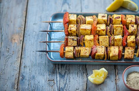 Alfred Prasad's Paneer and Red Pepper Skewers - Tesco Real Food - Tesco Real Food