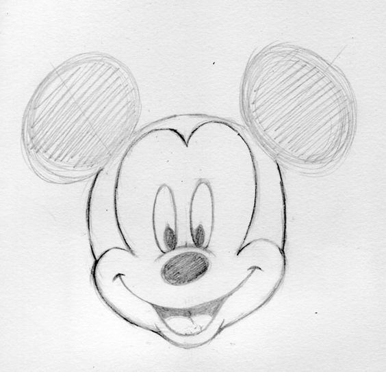 Mickey mouse drawings and mickey mouse drawings on pinterest for How do you draw a mouse
