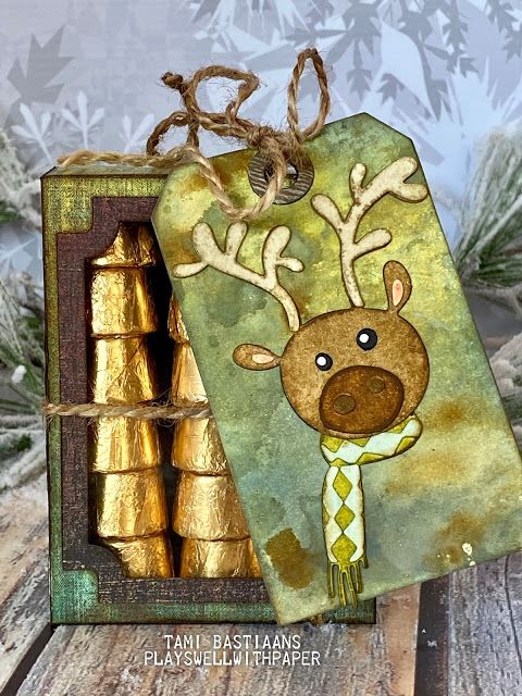 Critters Curio Box Stocking Stuffers - Sizzix Chapter 3 2020 in 2020    Wrapping paper crafts, Stocking stuffers, Sizzix