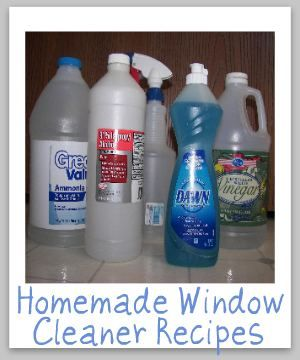 Homemade Window Cleaner Recipes  http://www.stain-removal-101.com/homemade-window-cleaner.html#