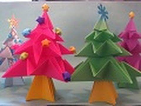 Arbolito de NAVIDAD ((Origami))
