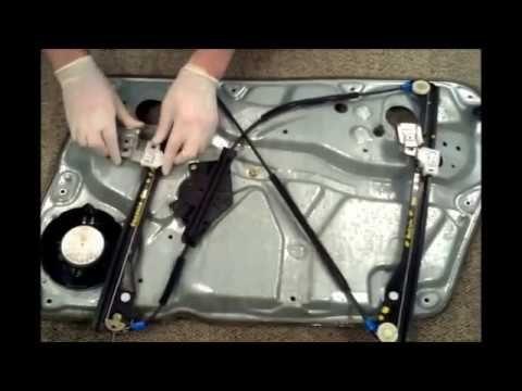 Vw Passat B5 Sedan Wagon Front Left Window Regulator Repair Work Fensterheber Leve Vitre Youtube Vw Passat Repair Sedan