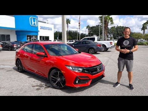 Is The New 2020 Honda Civic Sport Hatchback The Perfect Compact Car Youtube Honda Civic Sport Honda Civic Civic Car