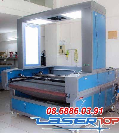 Máy khắc laser camera toàn diện 2 chiều làm việc độc lập (Khổ 1600x1000mm)