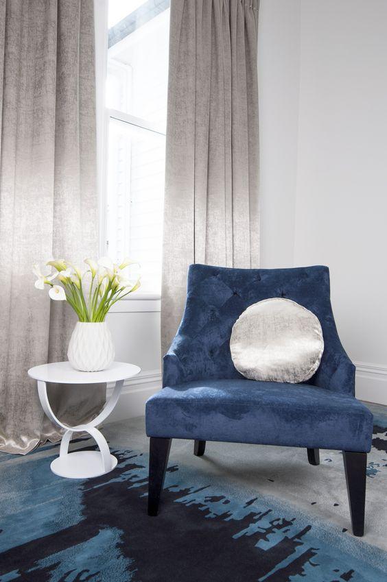Charles Parsons fabric | Curtains | Pinterest | Gallerie e Tessuti
