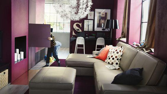 Ikea Sterreich Inspiration Wohnzimmer Kivik 3er Sofa Und R Camiere Und Kivik Hocker Mit