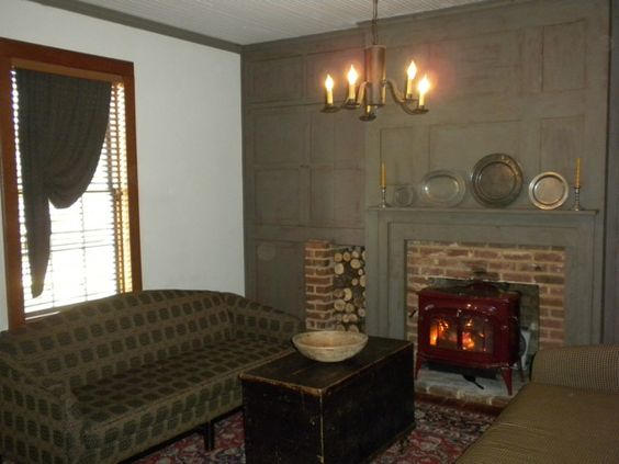 Colonial And Keeping Room On Pinterest