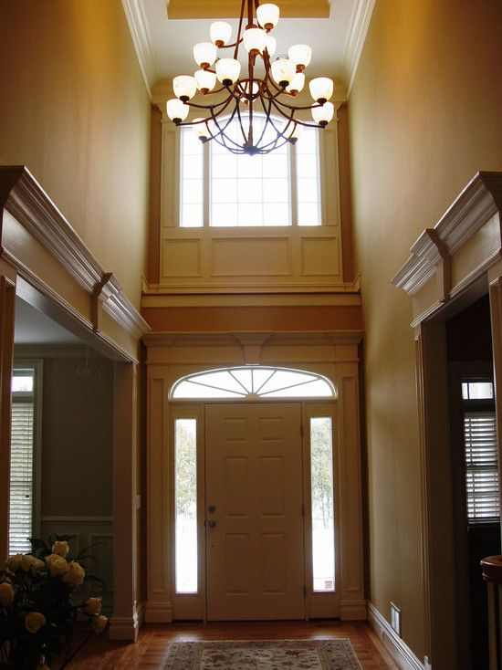 Houzz Two Story Foyer : Moldings foyers and windows doors on pinterest