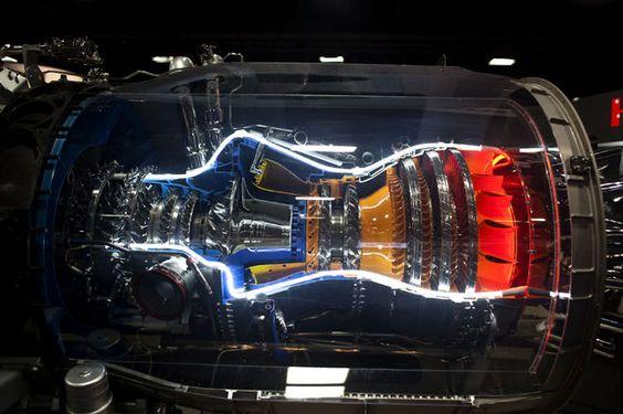 Honeywell AS907-1-1A turbofan engine