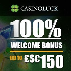 Use our Casino luck slots promo code for 100% matched 1st deposit bonuses for…
