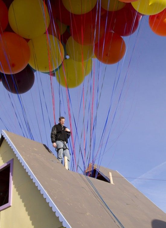Real Life Version of Up
