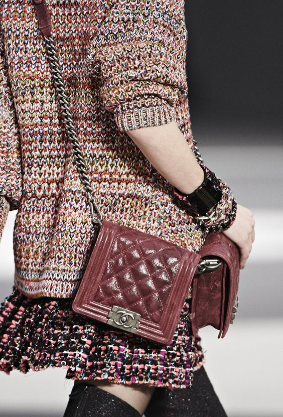 chanel Knitwear and bag fall winter 2013 2014
