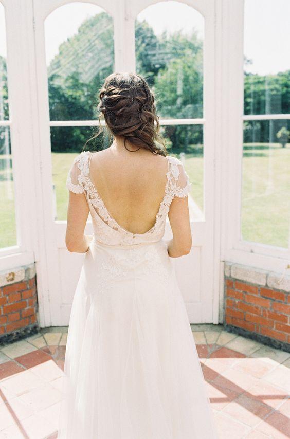 Wedding dress. Photography: D\'Arcy Benincosa - slcutahweddingphotography.com