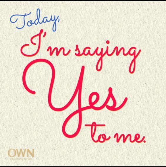 I'm saying YES!