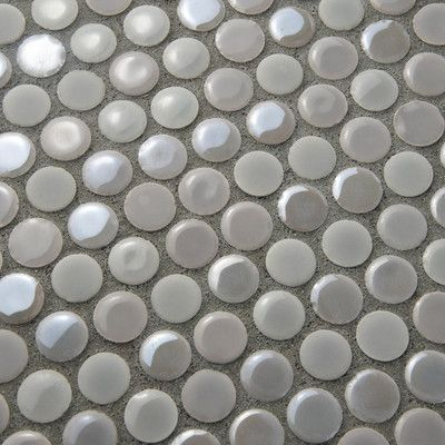 EliteTile Tucana Porcelain Mosaic Tile in Ash