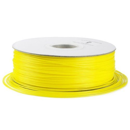 SainSmart 1.75mm ABS Filament 1kg/2.2lb yellow for 3D Printers Reprap, MakerBot Replicator 2, Afinia, Solidoodle 2, Printrbot LC, MakerGear M2 and UP!(Afinia H-Series)