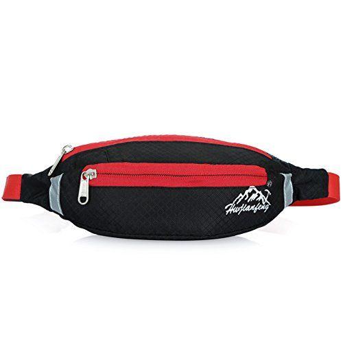 Running Cycling Fanny Pack Waist Belt Bum Bag Waterproof Phone Pouch Zip Unisex