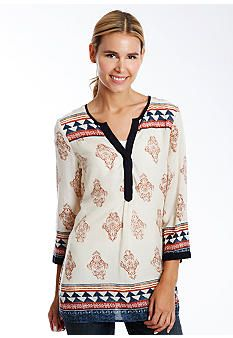 2014 Fall Fashion: Women's Most Wanted List | Lucky Brand Tunic http://effortlesstyle.com/2014-fall-fashion-womens-most-wanted/