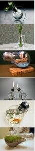Different ways to liven up a burnt out light bulb