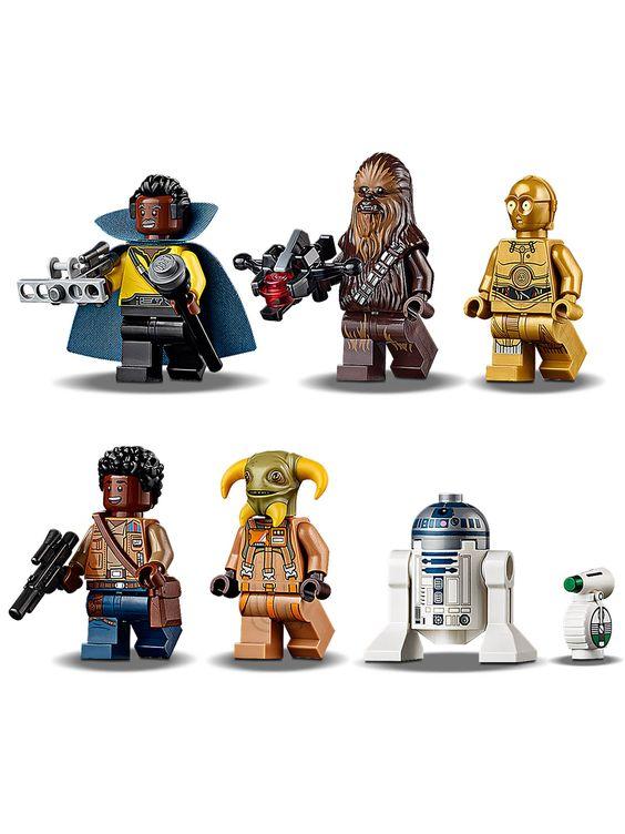 Lego Star Wars 75257 Millennium Falcon In 2020 Lego Star Wars Lego Star Star Wars Minifigures