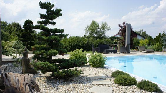 Wunderschöner Garten mit Pool von Garten Kochauf aus Lieboch.