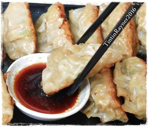 Resep Gyoza Dumpling Simpel Ala Rumah Oleh Tintin Rayner Resep Resep Makan Malam Resep Masakan