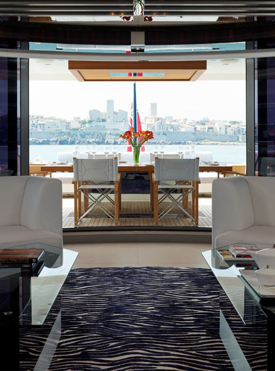 Yacht Interior Super Yachts And Yachts On Pinterest