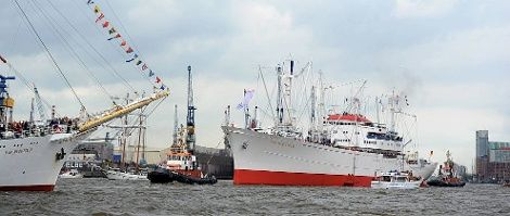 Schiffe Hamburger Hafen / HMC/Michael Zapf